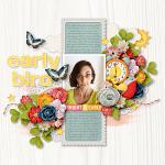 Layout by Kim using Early Bird by lliella designs