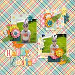 Layout by Hailey using Hey Peeps by lliella designs
