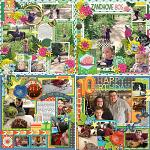 Layouts by Wendy and Rebecca