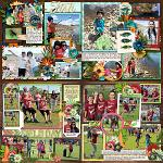 Layouts by Grace and Jill
