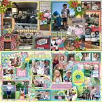 Layouts by Rebecca and Cindy