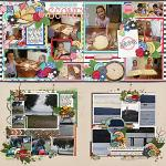 Layouts by Cassie and Sula
