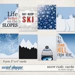 Snow Rush alternate cards