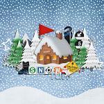 Layout by Sarah using Snow Rush by lliella designs