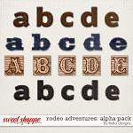 Rodeo Adventures Alpha Pack by lliella designs