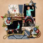 Layout by Kim using Rodeo Adventures by lliella designs