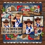 Layout by Cassie using Rodeo Adventures by lliella designs