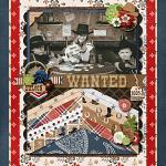 Layout by Vanessa using Rodeo Adventures by lliella designs