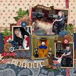 Layout by Jill using Rodeo Adventures by lliella designs