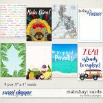 Mabuhay Cards by lliella designs