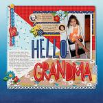 Digital Scrapbooking Layout by Misty