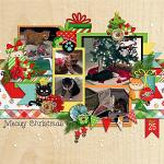 Layout by Jill using Meowy Christmas by lliella designs