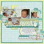 Layout by Lizzy, using Baby Boy by lliella designs