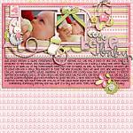 Layout by Aly, using Baby Girl by lliella designs