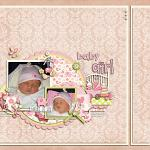 Layout by Lizzy, using Baby Girl by lliella designs