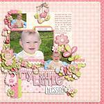 Layout by Kay, using Baby Girl by lliella designs