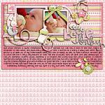 Layout by Aly, using Baby Girl by lliella designs