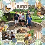 Layout by Jill using Summer Camp by lliella designs