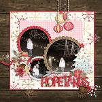 Layout by Kendall, using Holly Jolly Christmas by lliella designs