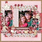 Layout by Kay, using Holly Jolly Christmas by lliella designs