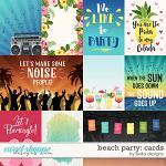 Beach Party: Cards by lliella designs