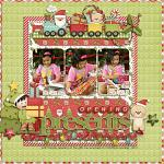 Layout by Jacq, using Merry Little Christmas by lliella designs