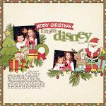 Layout by Kendall, using Merry Little Christmas by lliella designs