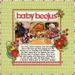 Layout by Laurie, using Merry Little Christmas by lliella designs