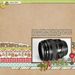 Layout by Celeste, using Merry Little Christmas by lliella designs