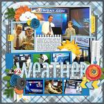 Layout by Rebecca using W is for Weather by lliella designs