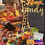 Digital Scrapbook Page by Rebecca