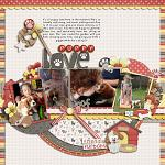 Layout by Lizzy, using Perfectly Furry by lliella designs