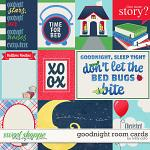 Good Night Room Cards