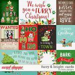 Furry & Bright Cards by lliella designs