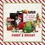 Layout by Lizzy using Furry & Bright by lliella designs
