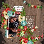 Layout by Martina using Furry & Bright by lliella designs