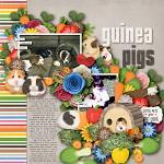 Layout by Kim using Little Pets Guinea Pig by lliella designs