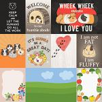 Little Pets Guinea Pig Cards by lliella designs