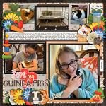 Layout by Cassie using Little Pets Guinea Pig by lliella designs