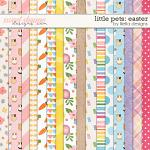 Little Pets Easter Papers by lliella designs