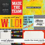 Made the Team Cards