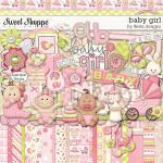 Baby Girl, digital scrapbooking kit by lliella designs