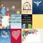 Little Pets Budgie Cards by lliella designs