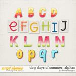 Dog Days of Summer Alphas by lliella designs