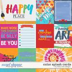 Color Splash Cards