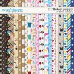 Birthday Puppy Papers by lliella designs