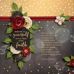 Layout by Jacinda using Keep the Faith by lliella designs