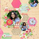 Beautiful Hope Layout by Misty