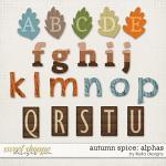 Autumn Spice Alphas by lliella designs