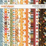 Autumn Spice Papers by lliella designs